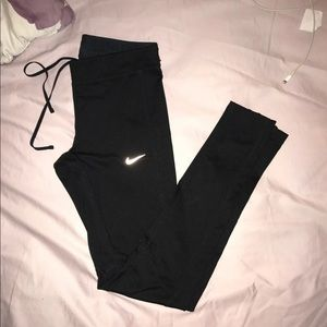 Black Nike Reflective Running Leggings